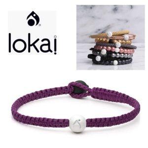 LOKAI Single Wrap Bracelet Fuchsia NWT Boho